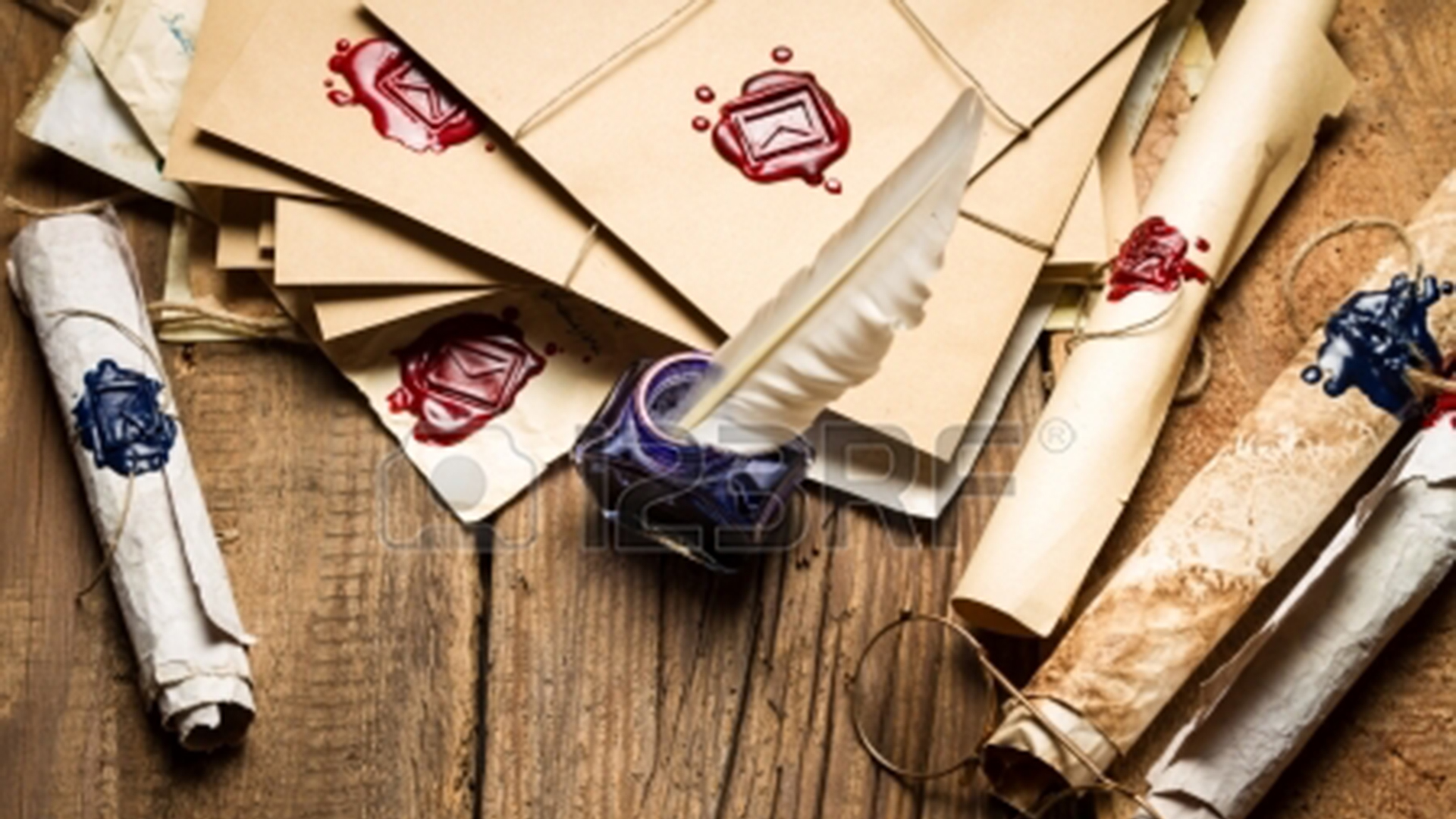 Letters and Quill