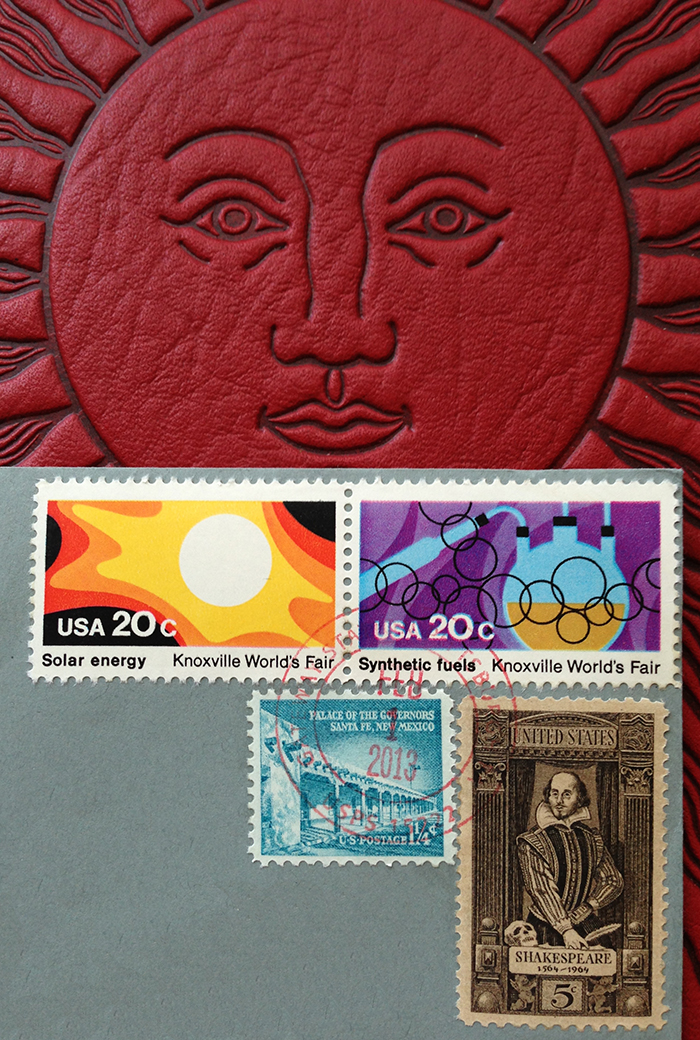 InCoWriMo Vintage US Postage Stamps