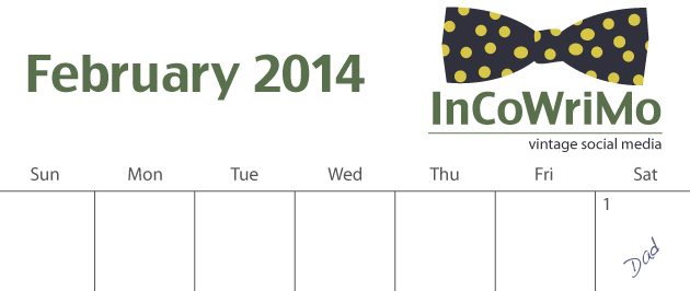 InCoWriMo 2014 Planning Calendar