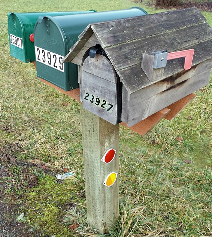 Mark Harris' Mailbox, Veneta, Oregon