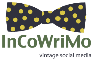 InCoWriMo Bow Tie PNG 300 x 200