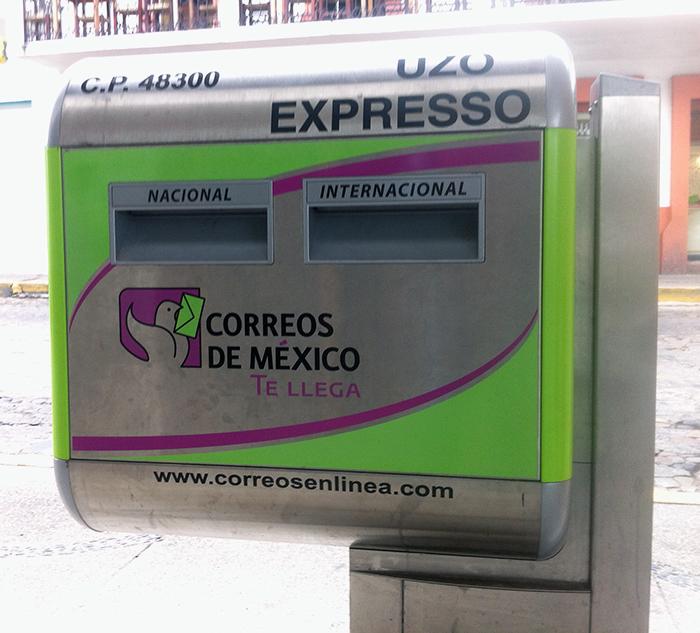 Mexico Postal Service Maildrop
