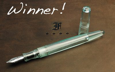 Winner of the Franklin-Christoph Write-In GiveAway!